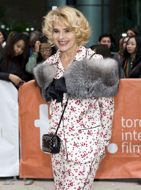 L'actrice Fanny Ardant était tout sourire sur le tapis rouge de «Bright Days Ahead». | 14 septembre 2013