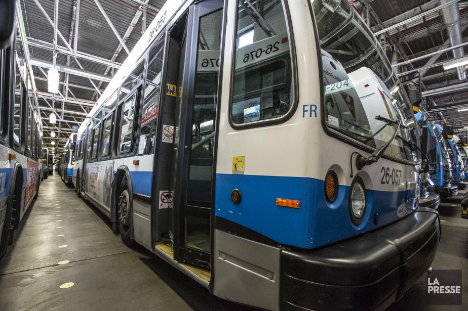 La Syndicat des chauffeurs d'autobus, des opérateurs de... (Photo Olivier Pontbriand, archives La Presse)