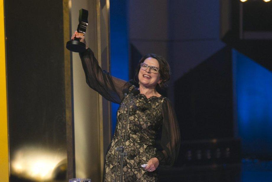 Marie-Thérèse Fortin a été récompensée pour son rôle dans le téléroman «Mémoires vives». (PHOTO HUGO-SÉBASTIEN AUBERT, LA PRESSE)