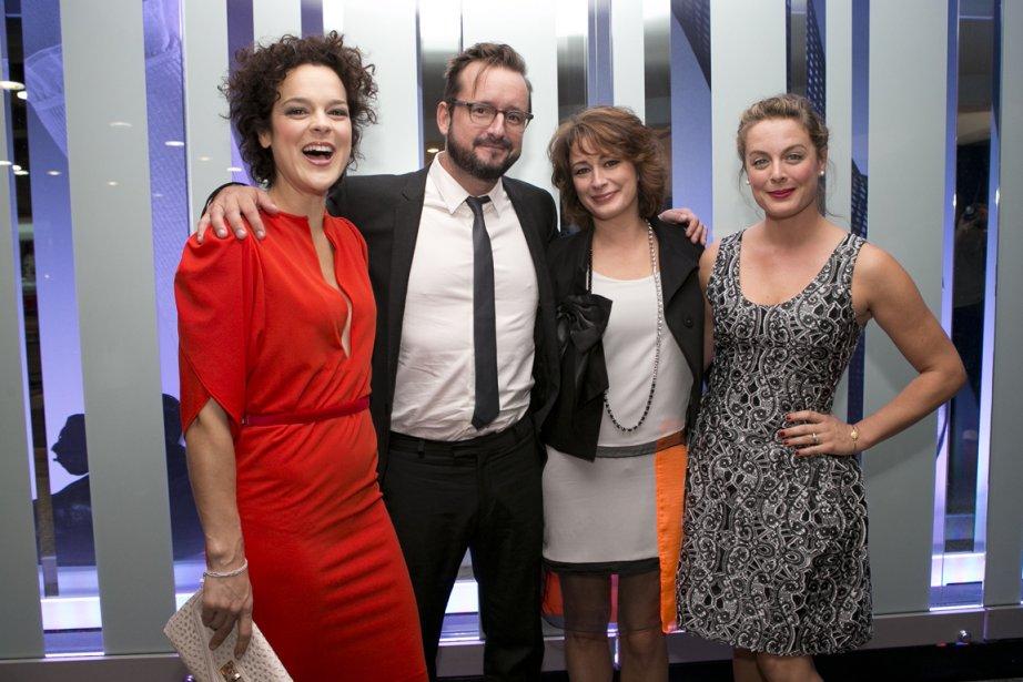 Avant le gala, les quatre amis de Mauvais Karma (Hélène... | 2013-09-16 00:00:00.000
