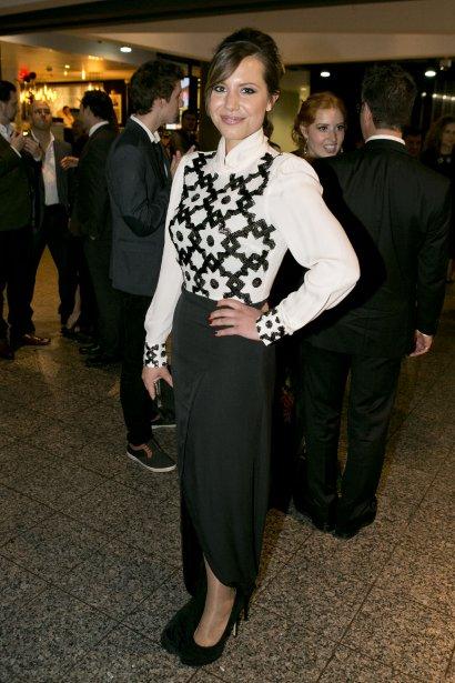 Magalie Lépine-Blondeau aime bien retrouver les gens de l'industrie en fin de soirée pour faire la fête: «Après un gala, habituellement, je me couche très tard, mais préférablement pas dans un sale état.» | 16 septembre 2013