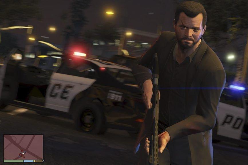 Une capture d'écran deGrand Theft Auto V...