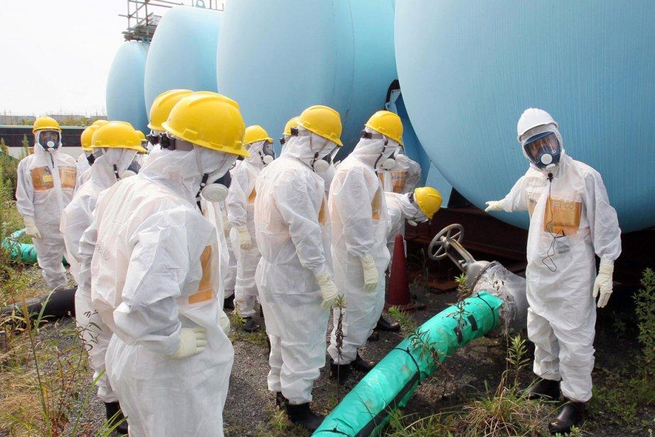 Plus de 1000 réservoirs installés en différents lieux... (PHOTO ARCHIVES KYODO NEWS, AP)