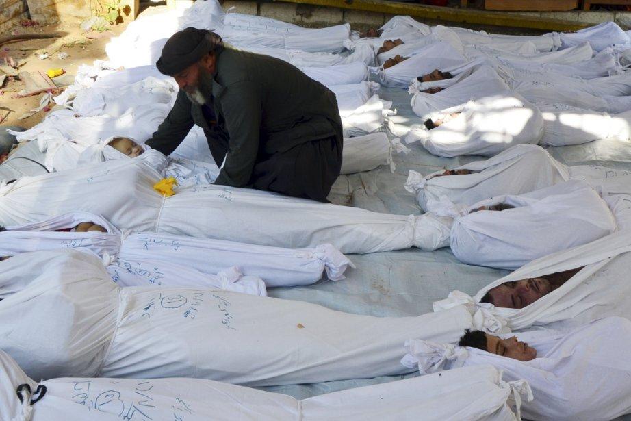 Du gaz sarin a été employé à «relativement... (PHOTO ARCHIVES REUTERS)