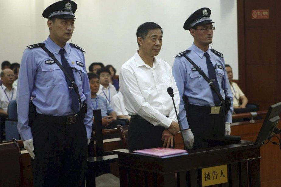 Bo Xilai en août dernier.... (Photo archives AFP)