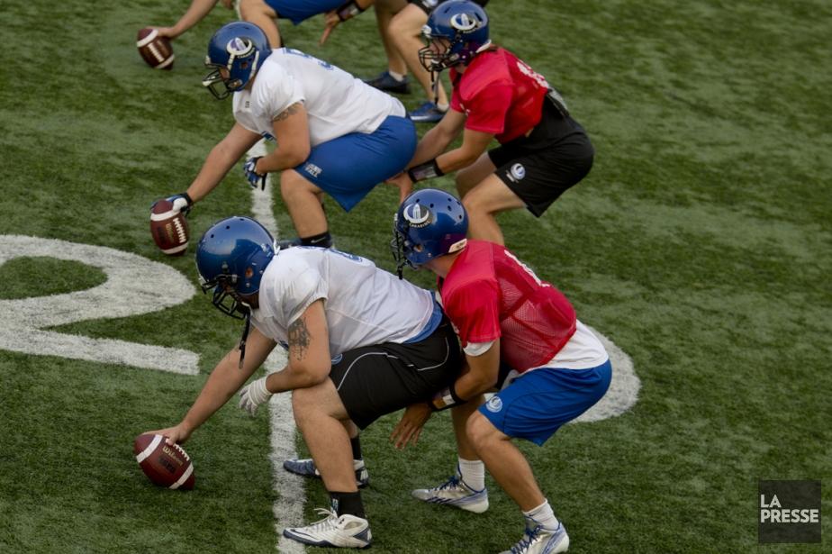 La réalité des étudiants-athlètes du circuit universitaire n'est... (Photo David Boily, archives La Presse)