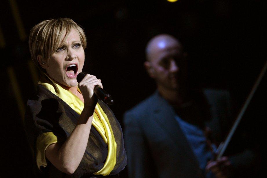 Patricia Kass lors d'une reprsentation de spectacle Kaas... (PHOTO BRITTA PEDERSEN, AFP)
