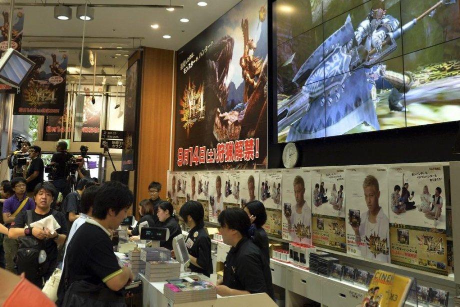 Pas moins de 200 000 visiteurs sont attendus... (PHOTO YOSHIKAZU TSUNO, AFP)