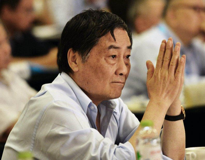 Le multimilliardaire Zong Qinghou.... (Photo AFP)