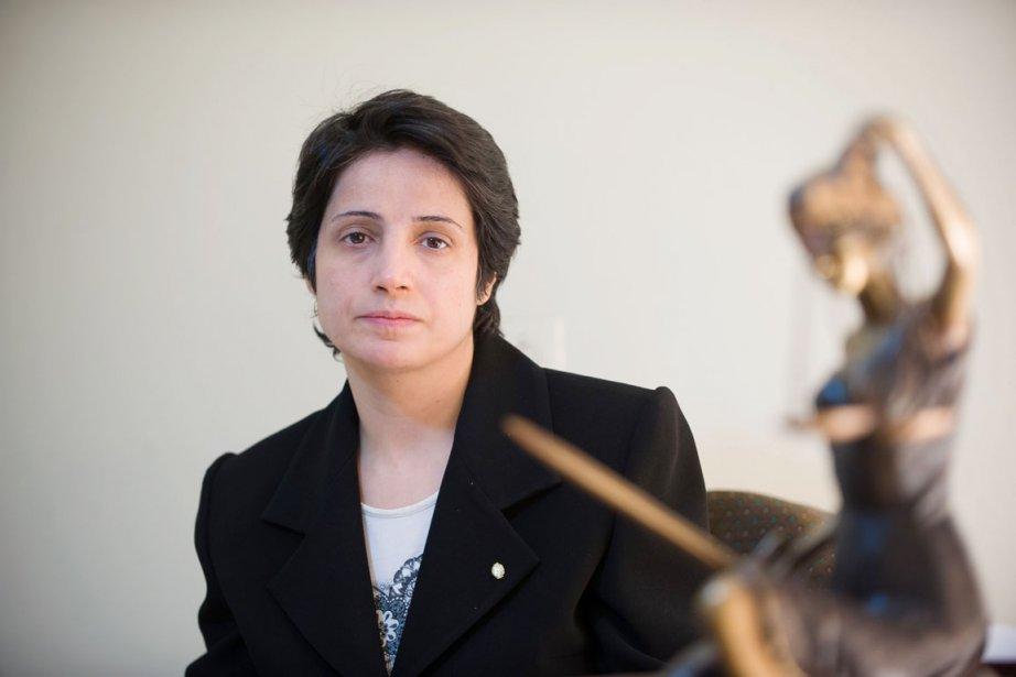 En janvier 2011, Nasrin Sotoudeh avait été condamnée... (PHOTO ARASH ASHOURINIA, ARCHIVES AFP)