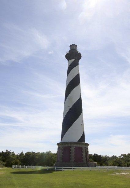 Pour monter à la plateforme du phare de Cape Hatteras, il faut gravir 257 marches, soit l'équivalent de 12 étages. (Photo Charles-Édouard Carrier, collaboration spéciale)