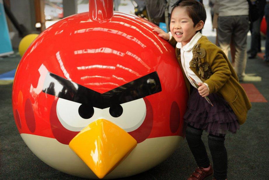 Le nouveau jeu vidéo d'Angry Birds, Star Wars II, du finlandais Rovio,...