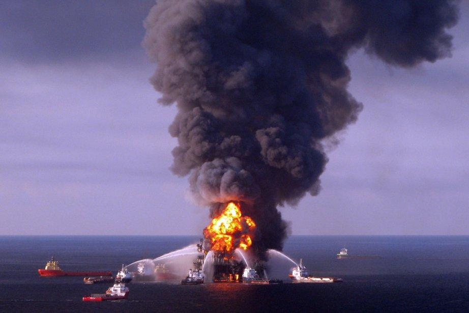 Halliburton Energy Services avait construit pour la compagnie... (PHOTO ARCHIVES AFP)