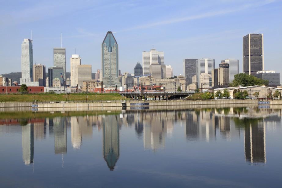 Vue sur le centre-ville de Montréal.... (Photo Photos.com)