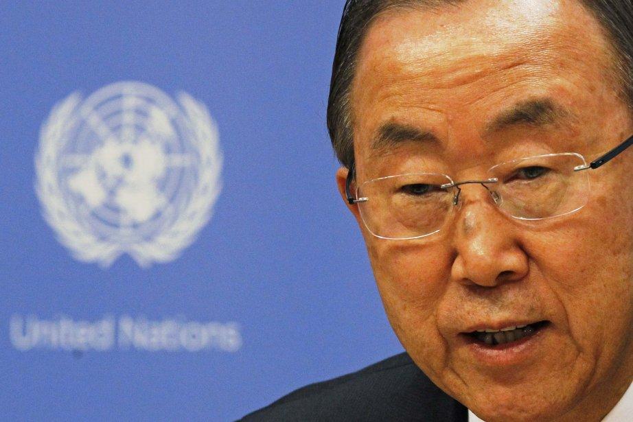 Le secrétaire général de l'ONU, Ban ki-Moon.... (Photo Brendan McDermid, Reuters)