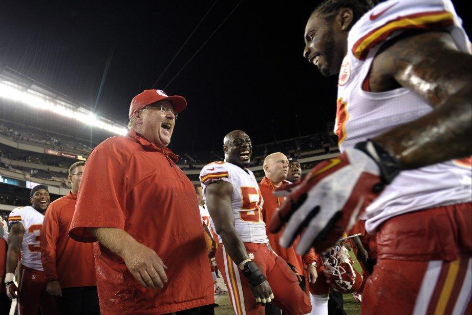 Les Chiefs de Kansas City (3-0) ont déjà... (Photo Michael Perez, AP)