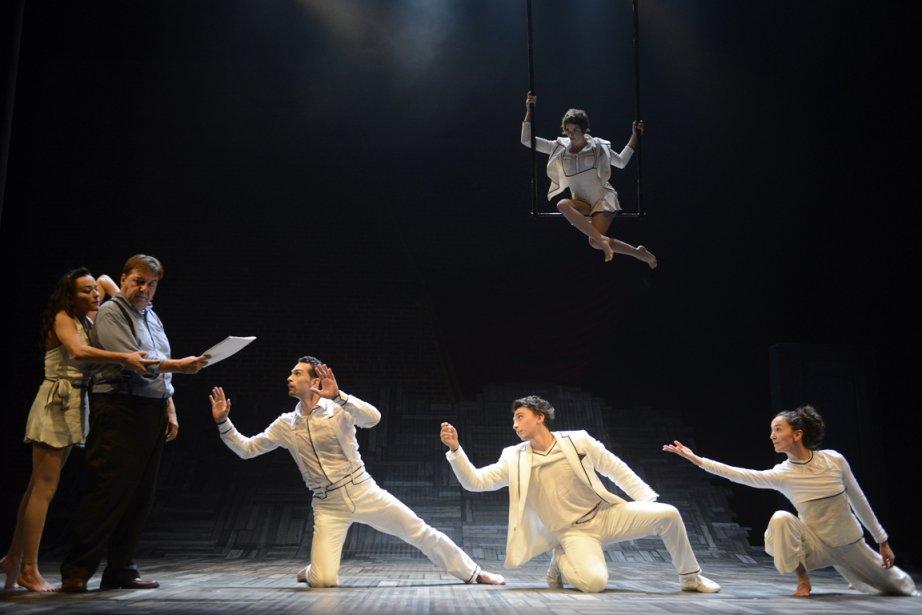 Signée par Sébastien Soldevila, la pièce Le Murmure... (PHOTO YVES RENAUD)