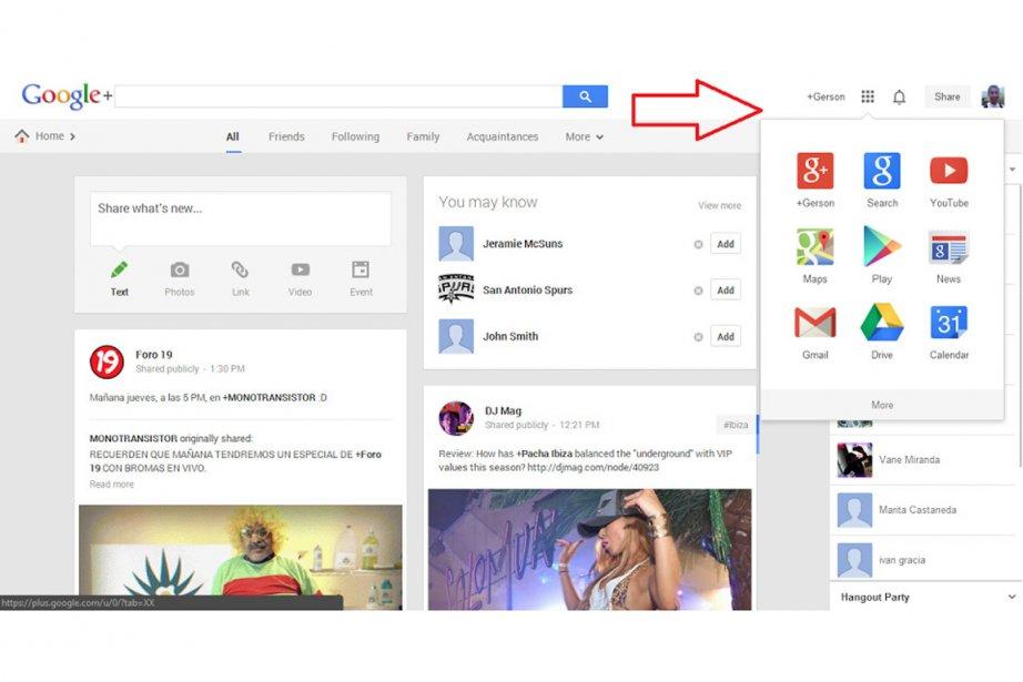 La barre Google présente une nouvelle interface.... (Photo Relax News)