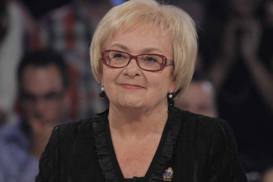 Colette Roy Laroche à Tout le monde en... (PHOTO FOURNIE PAR RADIO-CANADA)