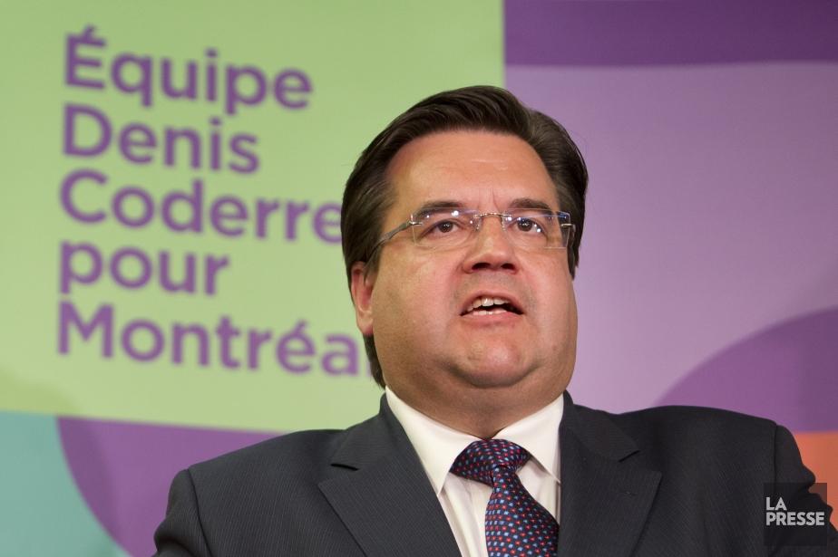 Le candidat à la mairie de Montréal Denis... (PHOTO ROBERT SKINNER, LA PRESSE)