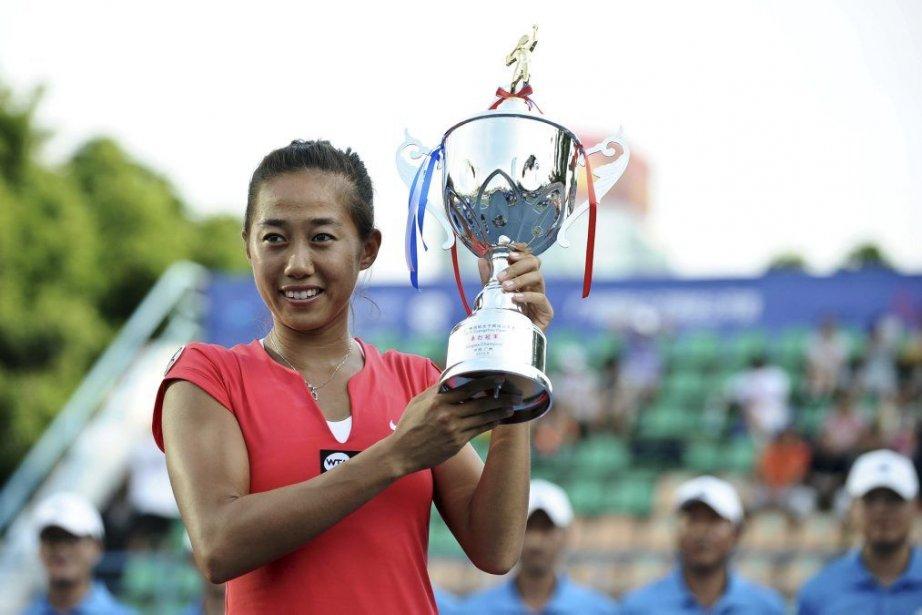 Zhang Shuai n'a pas perdu un seul set... (Photo AFP)