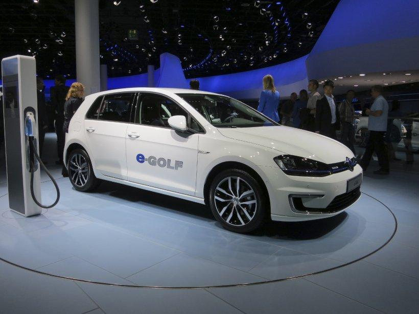 Le constructeur allemand Volkswagen a dévoilé plusieurs nouveautés basées sur le Golf à Francfort dont la Sportvan (qui ne sera pas disponible au Canada) et des versions électriques (qui ne seront pas commercialisées chez nous non plus, du moins pas toutes. (Photo Éric Descarries, collaboration spéciale)