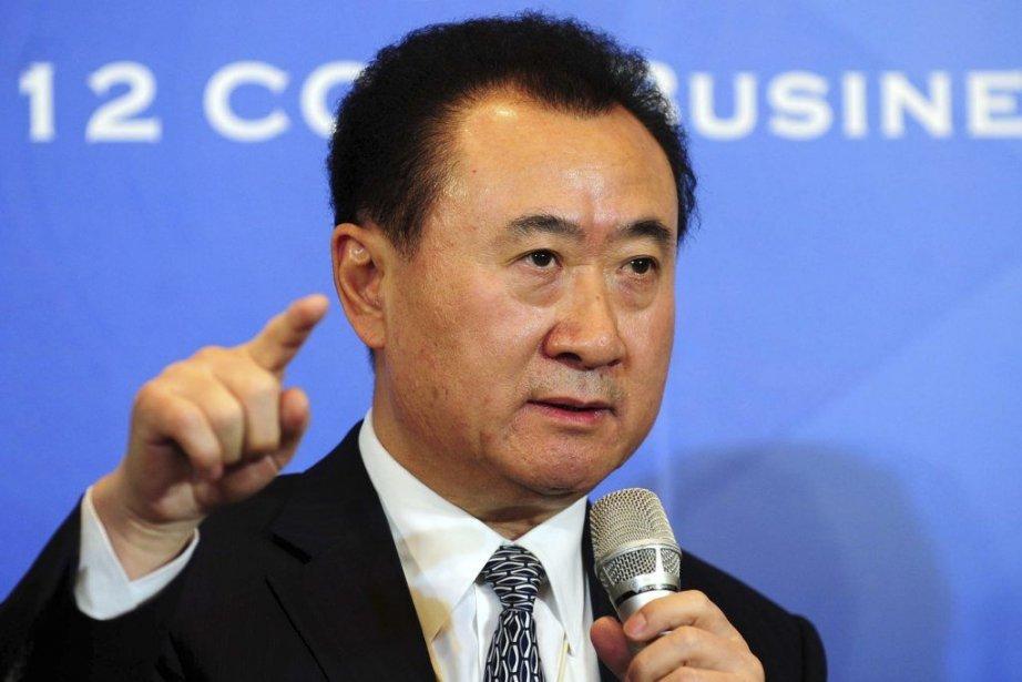 Le président de Wanda Group Wang Jianlin va... (Photo archives AFP)