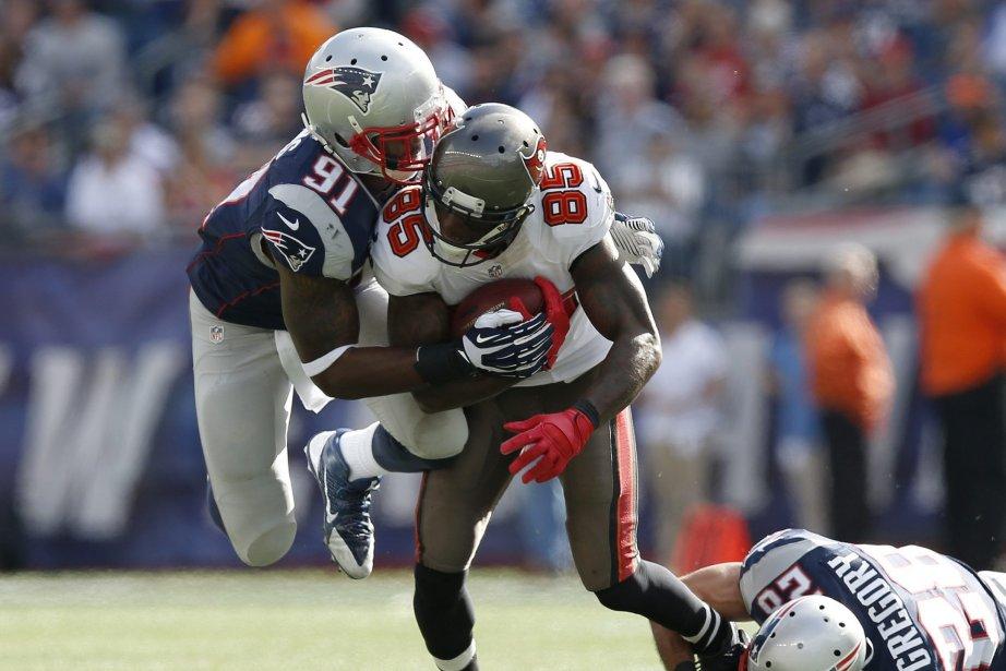Les Patriots détenaient une avance de 17-3 à... (Photo Elise Amendola, AP)