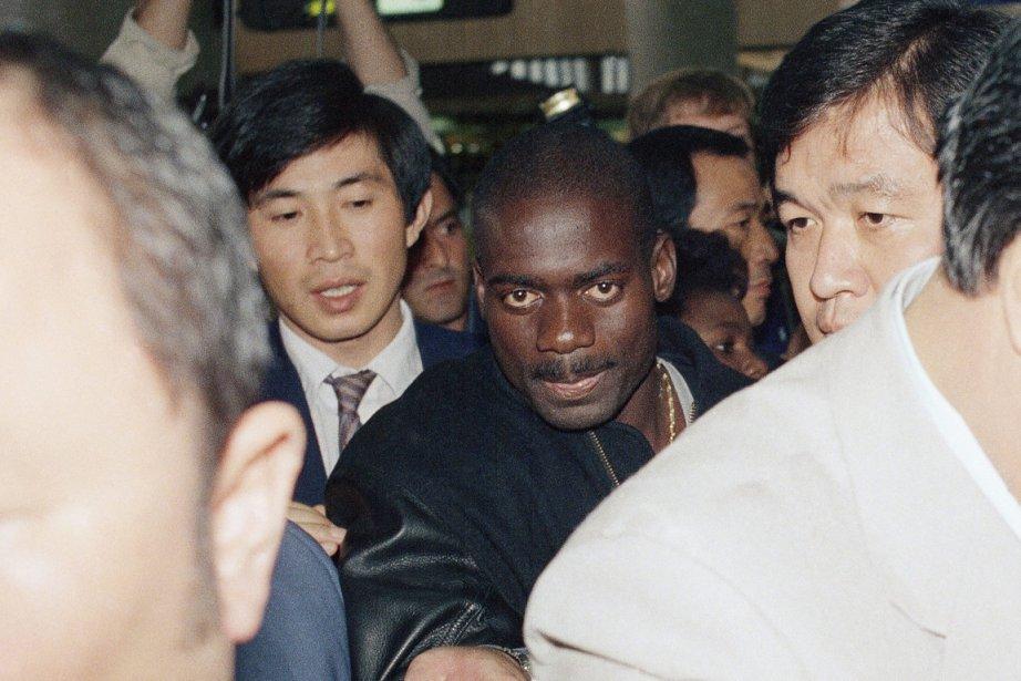 Aux Jeux olympiques de Séoul, Ben Johnson était... (Photo Lennox McLendon, AP)