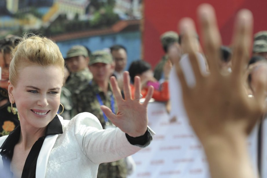 Nicole Kidman était présente au dévoilement du projet... (Photo: AP)
