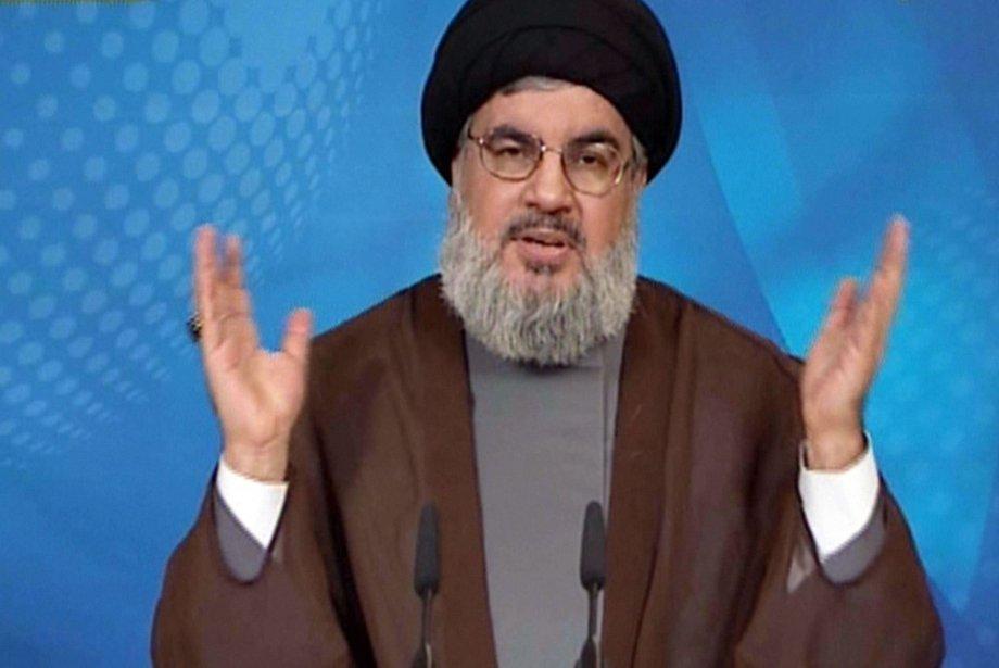 Le chef du Hezbollah Hassan Nasrallah.... (Photo AFP)