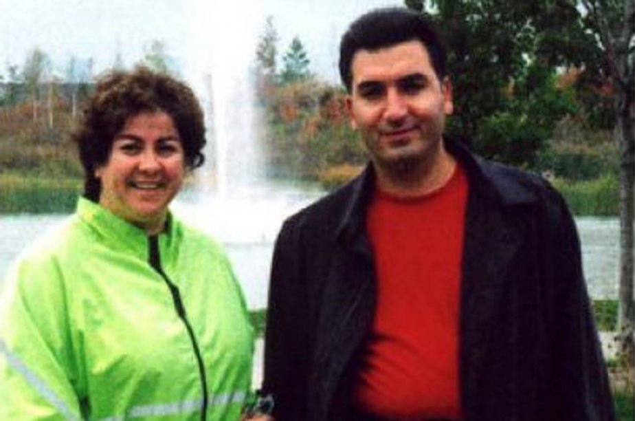 Hamid Ghassemi-Shall et sa conjointeAntonella Mega.... (Photo tirée d'internet)