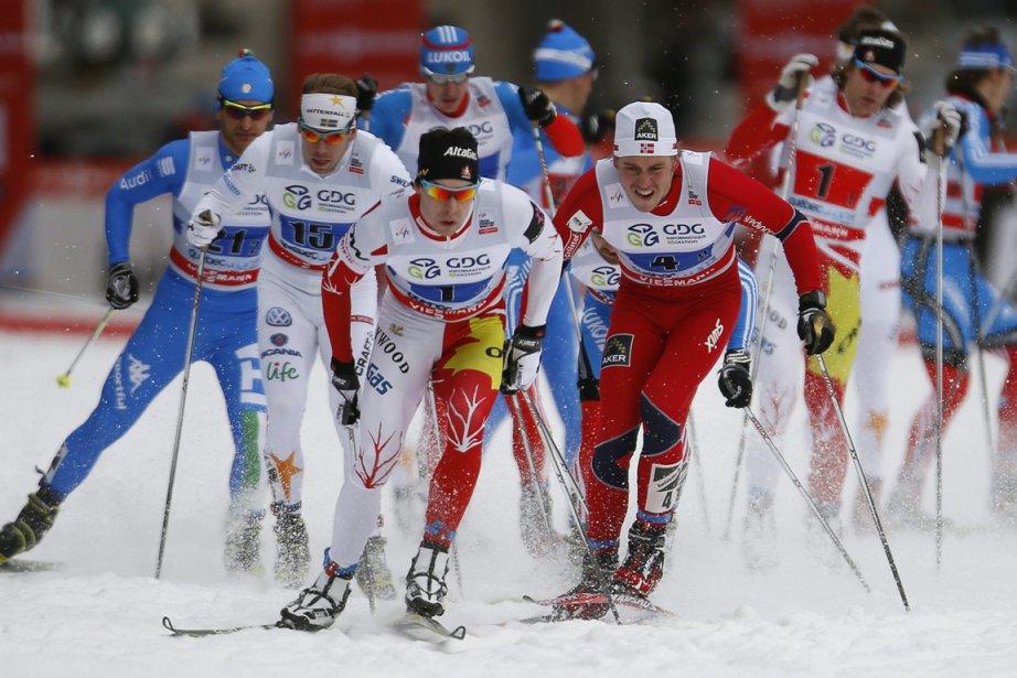 Calquée sur le Tour de ski qui a... (Photo Mathieu Bélanger, Reuters)