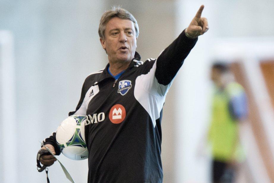 L'entraîneur de l'ImpactMarco Schällibaum a parlé d'honneur, lundi,... (Photo Paul Chiasson, PC)