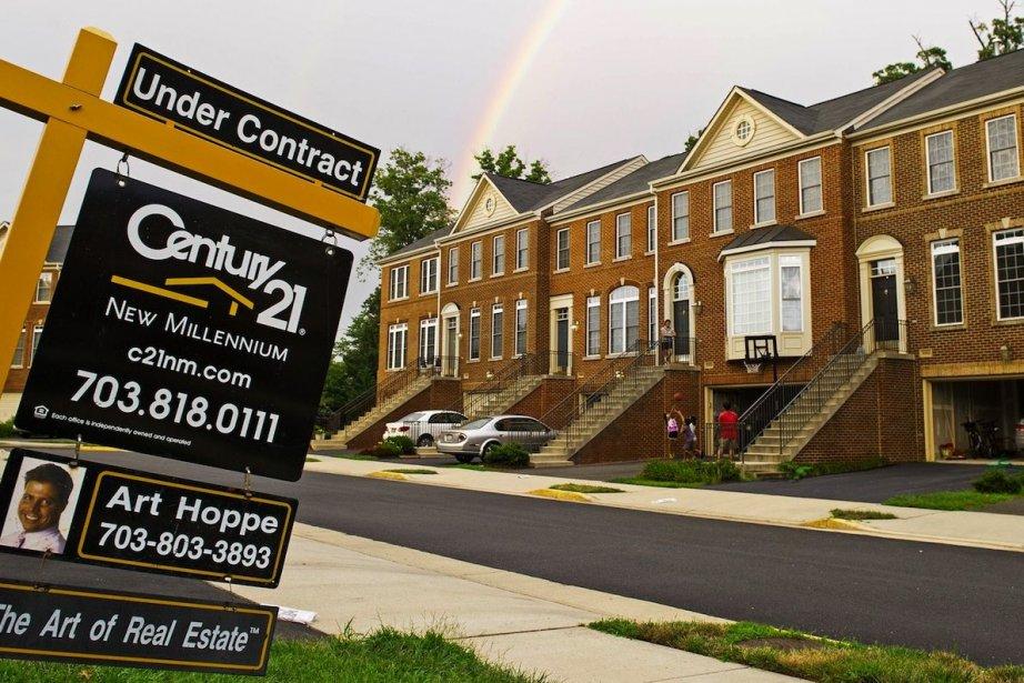 Le prix moyen des logements à la vente... (Photo Paul J. Richards, AFP)