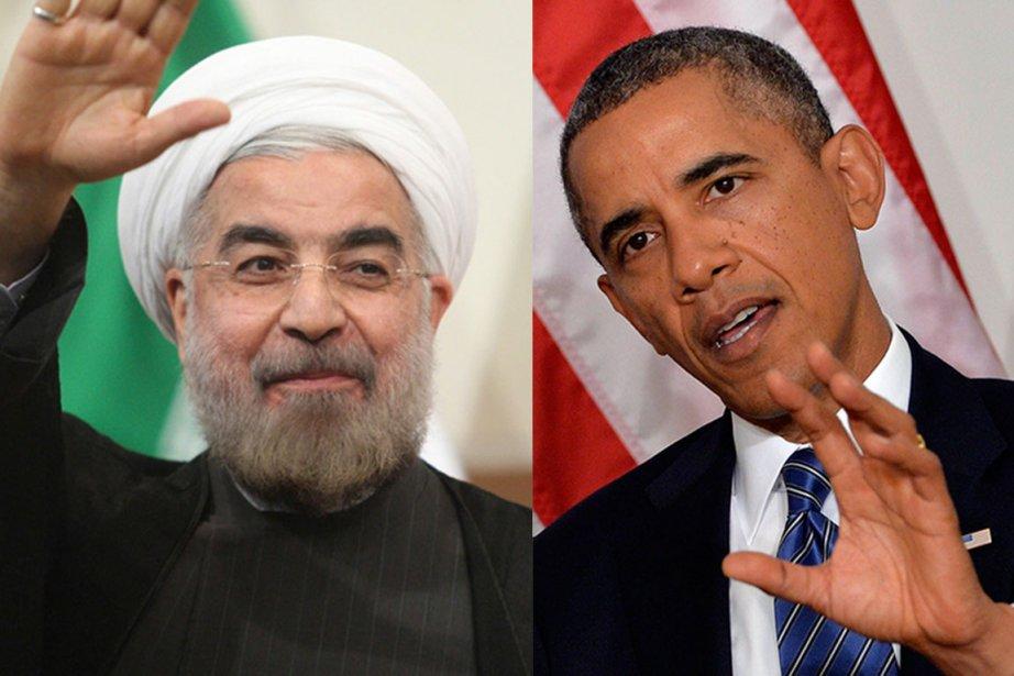 Barack Obama (à droite) a confirmé à la... (PHOTOS AFP ET REUTERS)