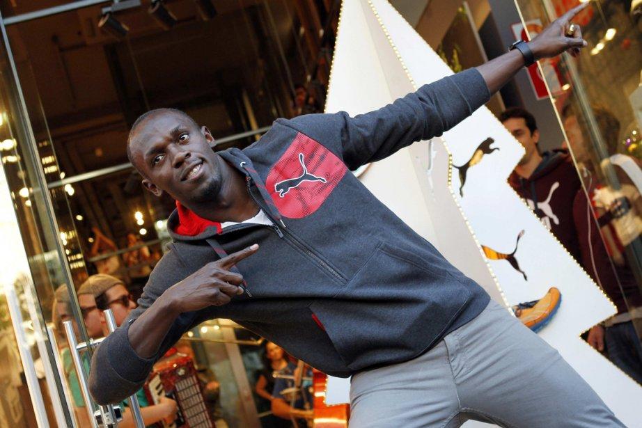 Usain Bolt... (Photo Albert Gea, Reuters)