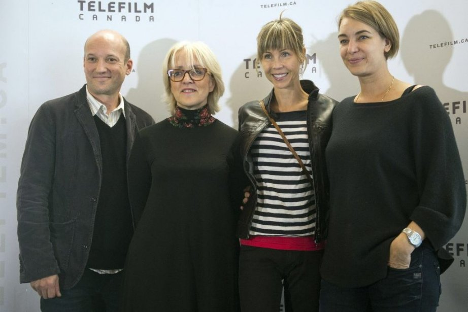 Le producteur Luc Déry, la directrice générale de... (Photo: La Presse Canadienne)