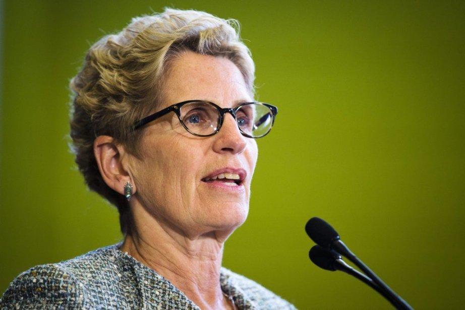 La première ministre de l'Ontario, Kathleen Wynne.... (PHOTO MARK BLINCH, LA PRESSE CANADIENNE)