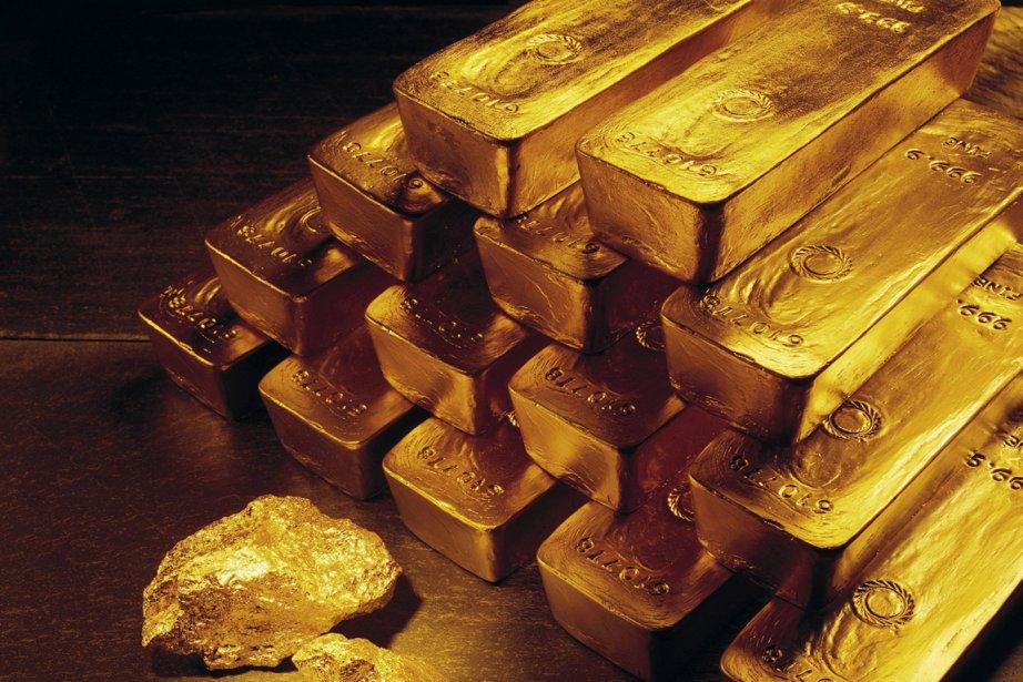 Une équipe de nettoyage a retrouvé 24 barres d'or, pour un... (Photo archives AP)
