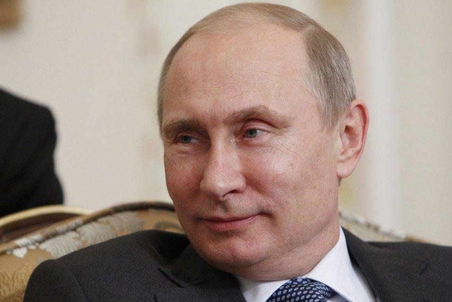 Le président russe Vladimir Poutine.... (PHOTO MAXIM SHEMETOV, ARCHIVES AP)