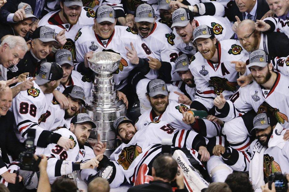 Les Blackhawks de Chicago pourront-ils faire ce que... (Photo Charles Krupa, AP)