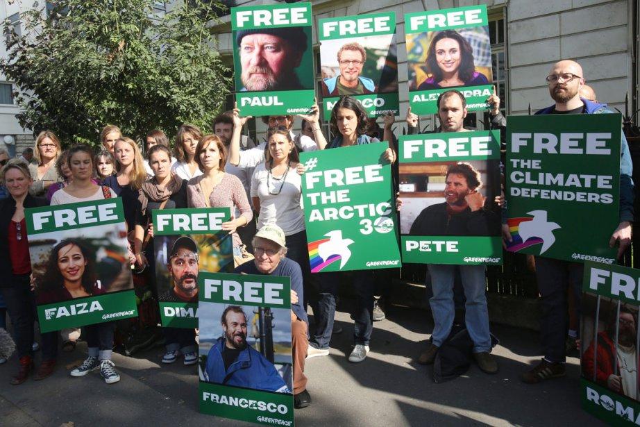 Quatre Russes et 26 ressortissants de 17 autres... (PHOTO RÉMY DE LA MAUVINIÈRE, AP)