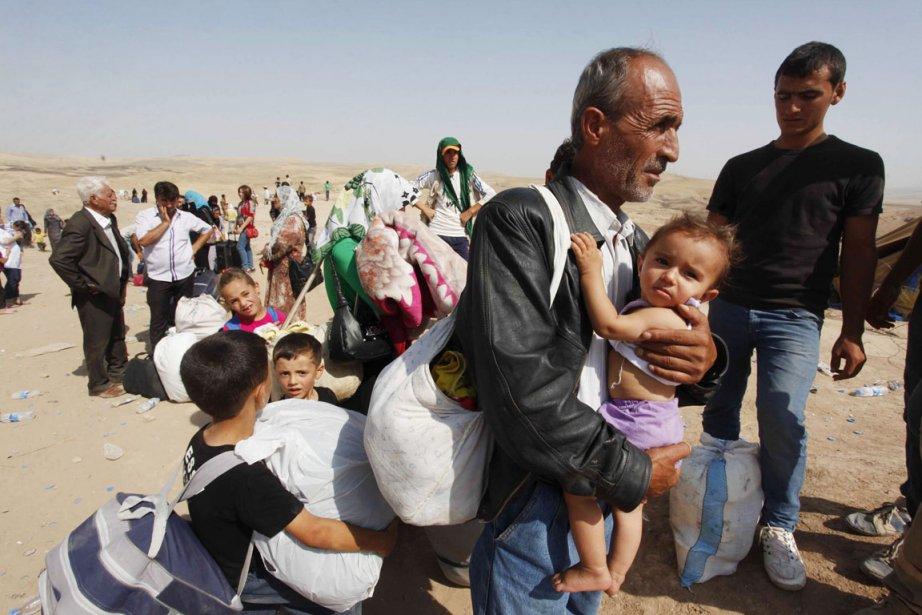 Plus de 126 000 personnes ont été tuées... (PHOTO HAIDER ALA, ARCHIVES REUTERS)