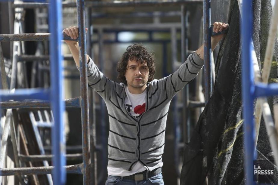Inspiré par le personnage de Néron de Racine,... (Photo: Martin Chamberland, La Presse)