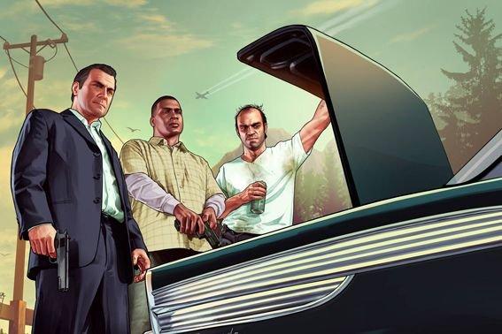 Dams Grand Theft Auto V,le joueur se retrouve...