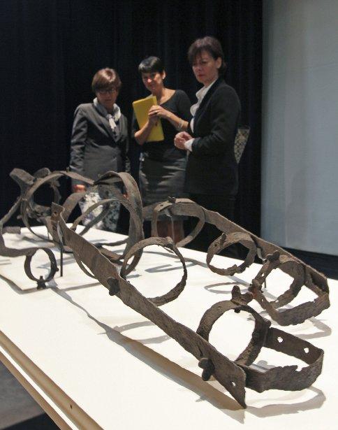 La cage de la Corriveau, un artéfact «unique» dont l'authenticité fait peu de doutes