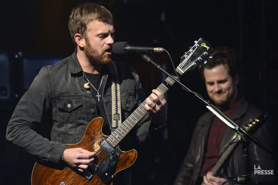 Kings of Leon... (PHOTO BERNARD BRAULT, LA PRESSE)