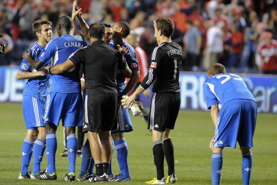 Combien de points l'Impact devra-t-il engranger pour s'assurer... (Photo Matt Marton, USA Today Sports)