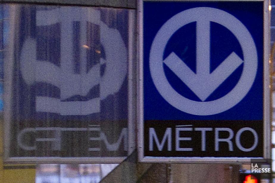 Une grande partie de la ligne orange du métro de... (PHOTO ARCHIVES LA PRESSE)